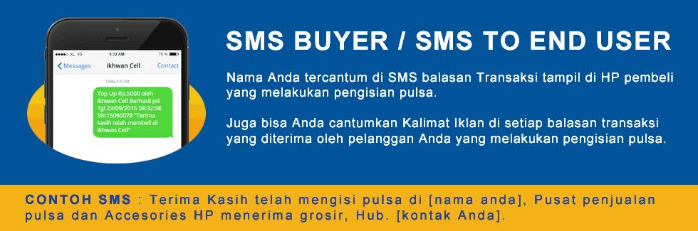 SMS Buyer Pulsa