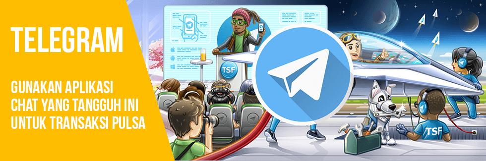 Cara Transaksi Bisnis Pulsa Lewat Telegram